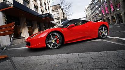 Ferrari 458 Italia Parking Street 1080p