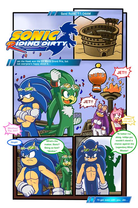 Sonic Riding Dirty Page 1 By Escopeto