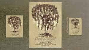 wedding shower invites read more willow tree and string lights wedding
