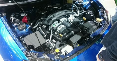 For example the engines tend to be lighter and cheaper than their. BRZ and WRX Sti engine bay