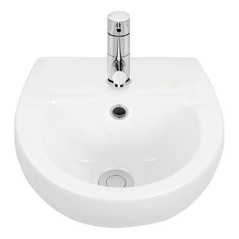 basins plumbing world caroma venecia mm wall basin