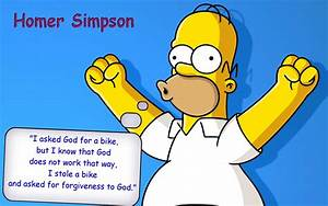 Quotes Homer Simpson The Simpsons wallpaper