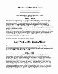 will and testament form Vocaalensembleconfianza