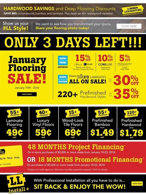 Lumber liquidators credit card is issued by the synchrony bank and can be used at every lumber liquidators stores across the country. Lumber Liquidators: Waterproof floors UNDER $1! Hardwood floors UNDER $2!   Milled