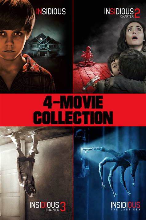 Insidious 4-Movie Collection now available On Demand!