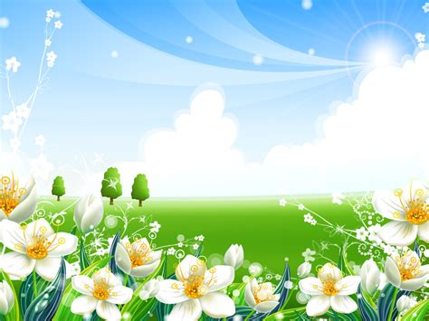 flowers templates  powerpoint
