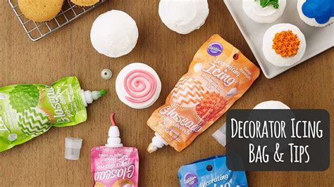 add quick details  cakes   wilton icing pouch
