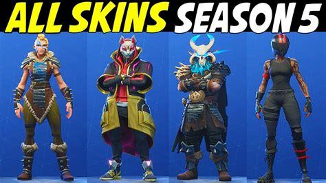 skins  fortnite season  fortnite season