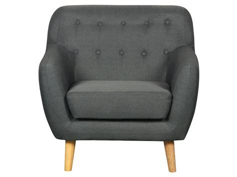 fauteuil tissu quot cody quot gris fonc 233 83761
