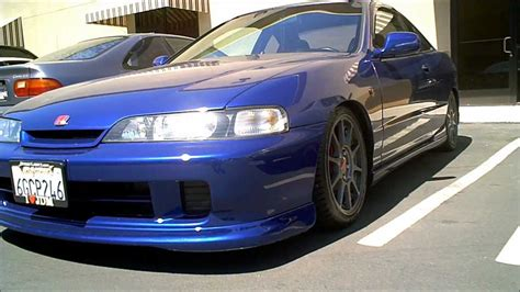 Acura Integra With Jdm Front End Conversion