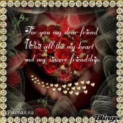 God Bless You My Dear Friend