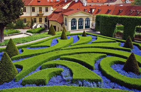 Photo  A Formal Garden In Eastern Europe  Garden Variety