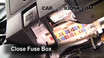 Mirror 2009 Scion Xb Fuse Diagram by Interior Fuse Box Location 2005 2010 Scion Tc 2009