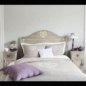 tete de lit 140cm quotcamillequot maison du monde idee deco With camille maison du monde