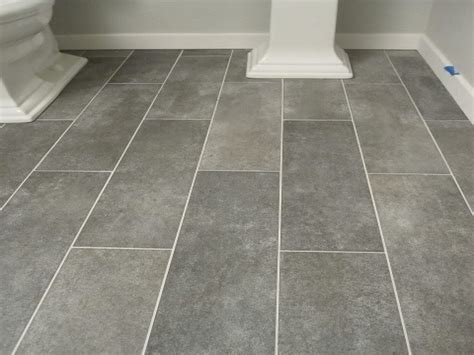 laundry tiles ideas gray plank bathroom floor tiles faux