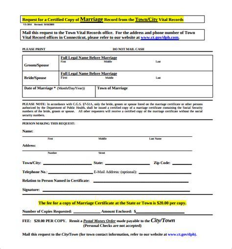 wedding certificate template