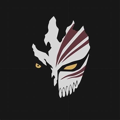Bleach Hollow Mask Anime Ichigo Shirt Masks