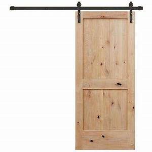 42 x 84 unfinished wood barn doors interior for 42 inch interior barn door