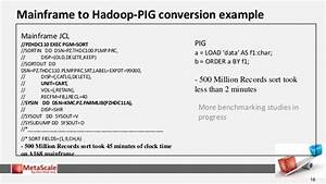 move to hadoop go faster and save millions mainframe With mainframe to hadoop migration resume