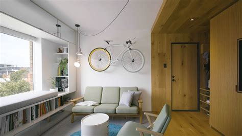 Small Apartment : Never Too Small Ep. M Tiny Apartment Design-type