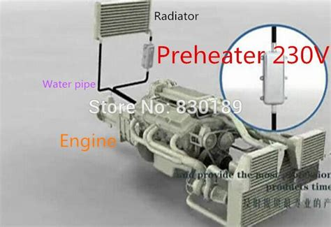 1500w 110v 220v Ac Preheating & Heating Of The Engine