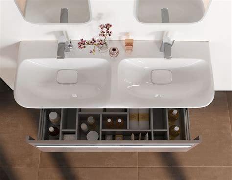 Badezimmer Unterschrank Für Doppelwaschbecken by Doppelwaschtisch Mit Waschtisch Unterschrankserie Myday
