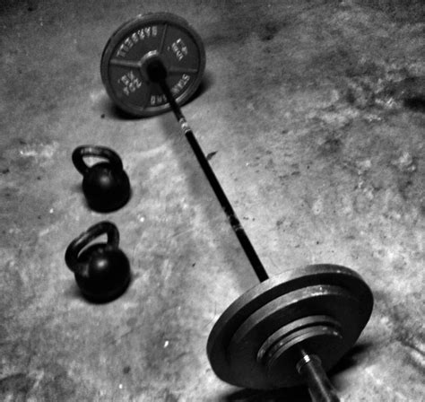 kettlebell barbell barbells kettlebells vs strength muscle power fitness put squats composition jump vertical body study rdellatraining training transcendent personal