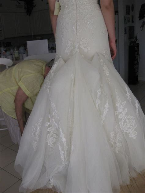 This One Has Embroidry And Tulle It Doesnt Look Too Bad