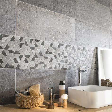 stickers vitres cuisine mosaïque sol et mur graphik hexa noir leroy merlin