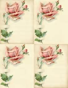 Free Printable Rose Cards