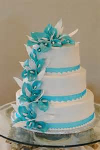 turquoise wedding cakes 1324576225138 turquoisecallalillycake azle wedding cake