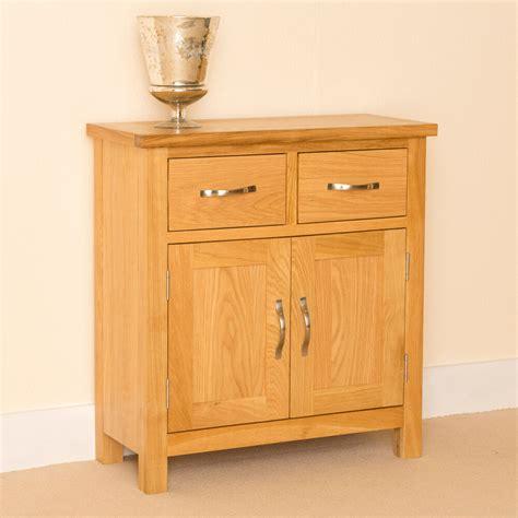 Oak Sideboard Cabinet by Newlyn Oak Mini Sideboard Small Oak Cupboard Light