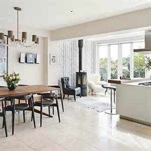 extension kitchen ideas extension with a wood burner side return kitchen extension black chairs stove