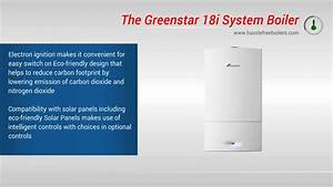 Worcester Bosch Greenstar 18i System Boiler Video Review
