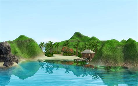 summer s little sims 3 garden isla paradiso the sims 3