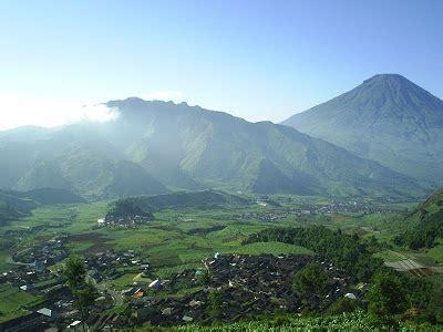 kabupaten wonosobo news wonosobo keindahan alam