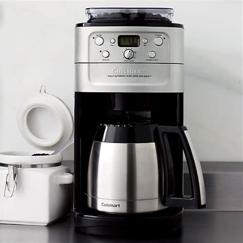 Top three cuisinart coffee makers. Cuisinart® Grind and Brew Thermal 12 Cup Coffee Maker in Coffee Makers   Crate&Barrel   Coffee ...