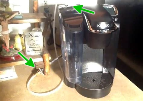 Keurig hack runs a water supply line to your coffee maker   Hackaday