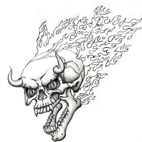 flaming devil skull flash  steevdragon  deviantart