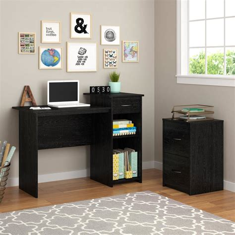 Mainstays Student Desk Finishes White by Mainstays Student Desk Black Whitevan