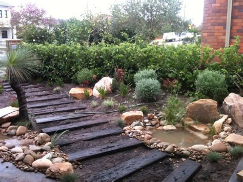 Northern Beaches Modern Zen Native Garden-landscapers Sydney