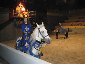 Medieval Times Blue Knight