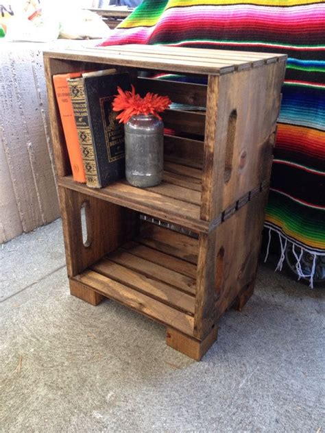 Crate Nightstand Diy by 25 Best Ideas About Crate Nightstand On Crate