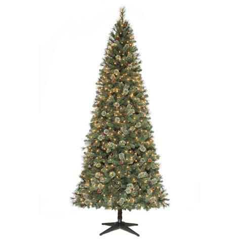 martha stewart living christmas lights martha stewart living 9 ft alexander pine quick set