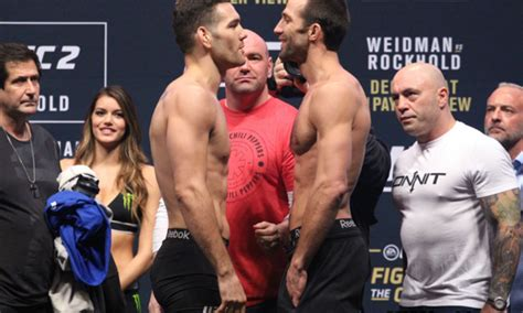 Luke Rockhold vs. Chris Weidman 2 set for UFC 230
