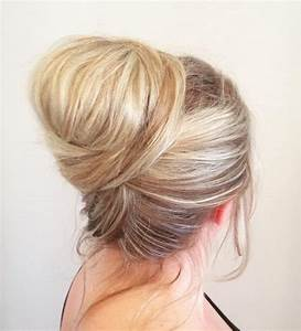 25 Effortless Updos For Medium Length Hair Hairstyle For
