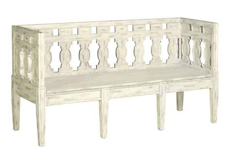 shabby chic storage bench emory swedish gustavian shabby chic white wash storage bench kathy kuo home