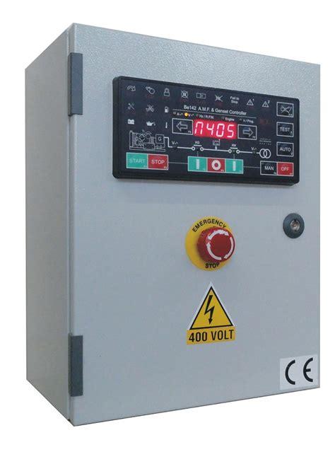 automatic mains failure control panel genset controller