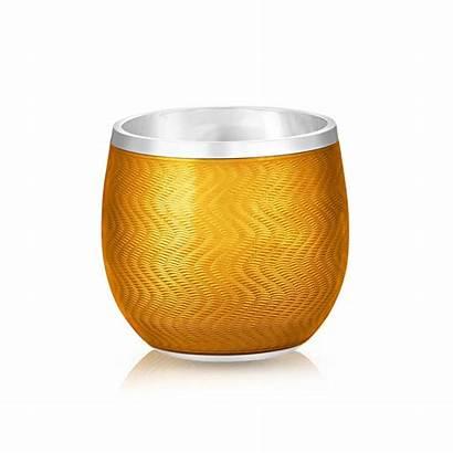 Shot Glass Faberge Enamel Orange Treasures Friend