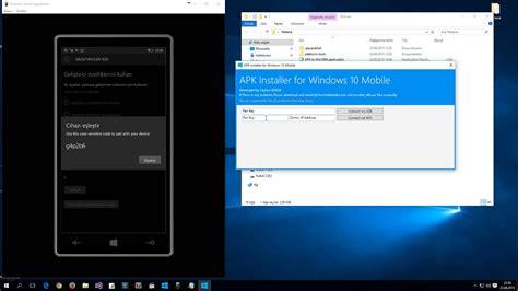 apk installer for windows 10 mobile installation vimeo